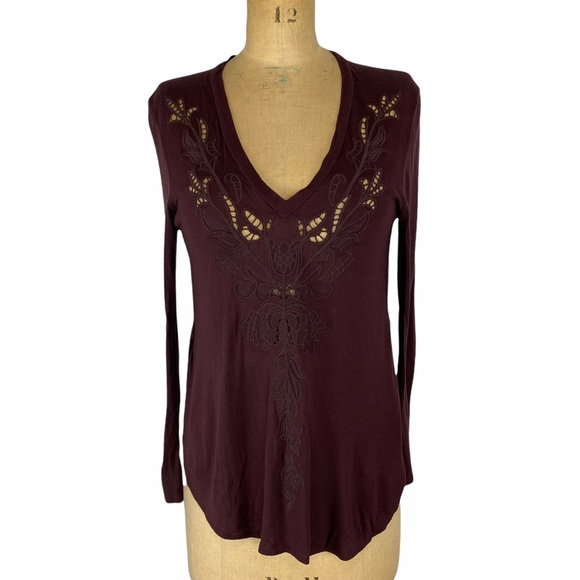 Wilfred Embroidered Cappucine Style Long Sleeve